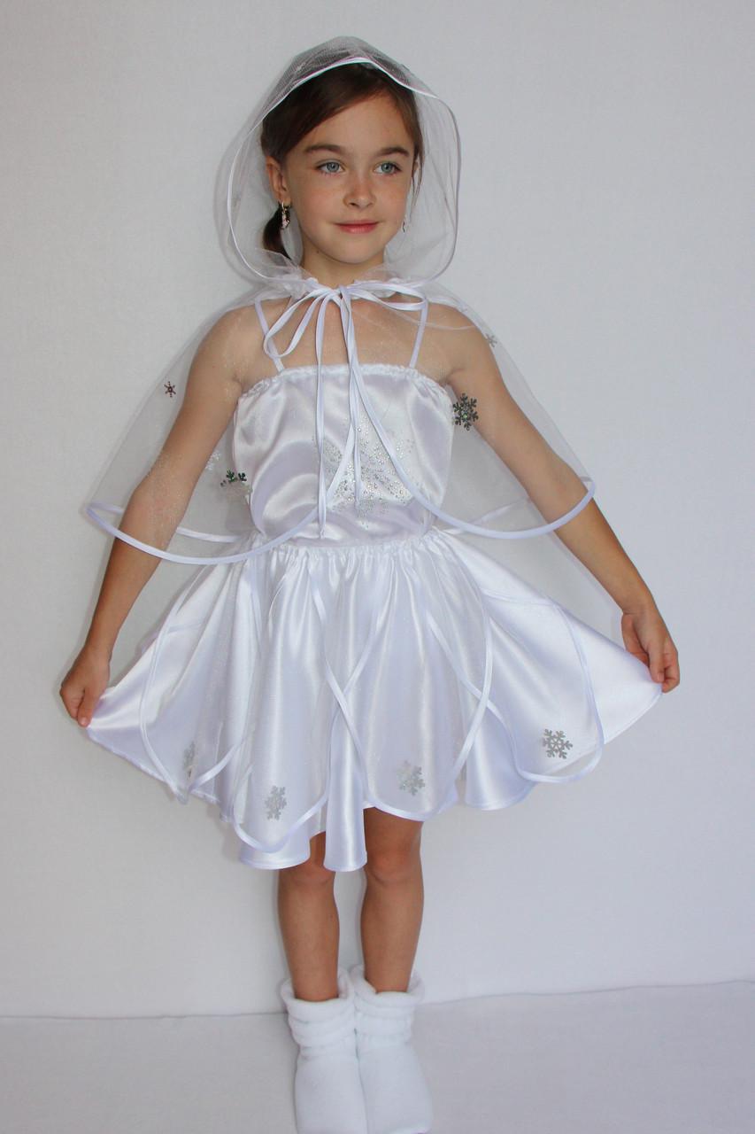 Карнавальный костюм Снежинка для девочек