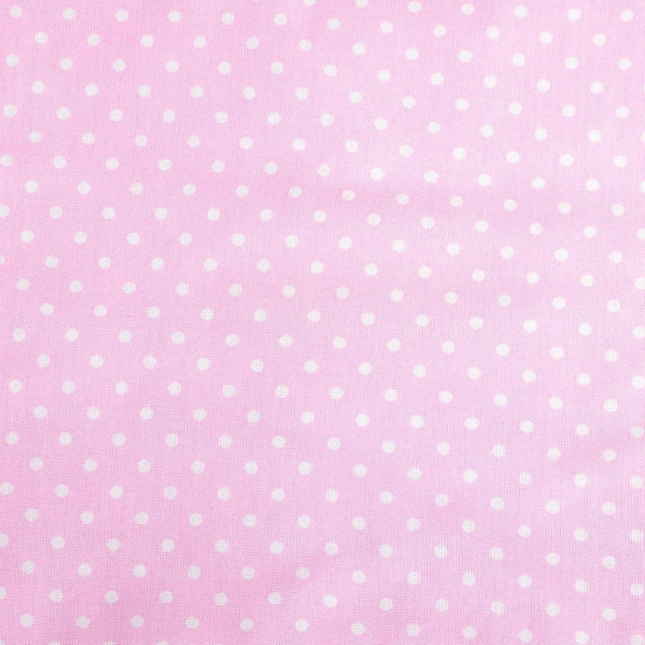 Простынь на резинке в  коляску   Розовая   80 х 40 см