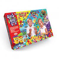Набор для творчества Фабрика пластилина Big creative box 4в1, фото 1