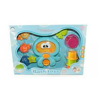 """Набор игрушек  для купания малыша """"Осьминог"""" 8821"""