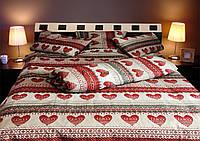 Комплект полуторного постельного белья Вышиванка