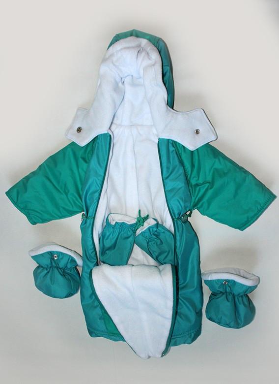 Демисезонный комбинезон-конверт  для малышей