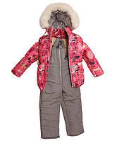 Зимняя куртка и полукомбинезон  для девочек Город, фото 1
