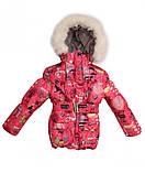 Зимняя куртка и полукомбинезон  для девочек Город, фото 3