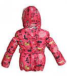 Зимняя куртка и полукомбинезон  для девочек Город, фото 4