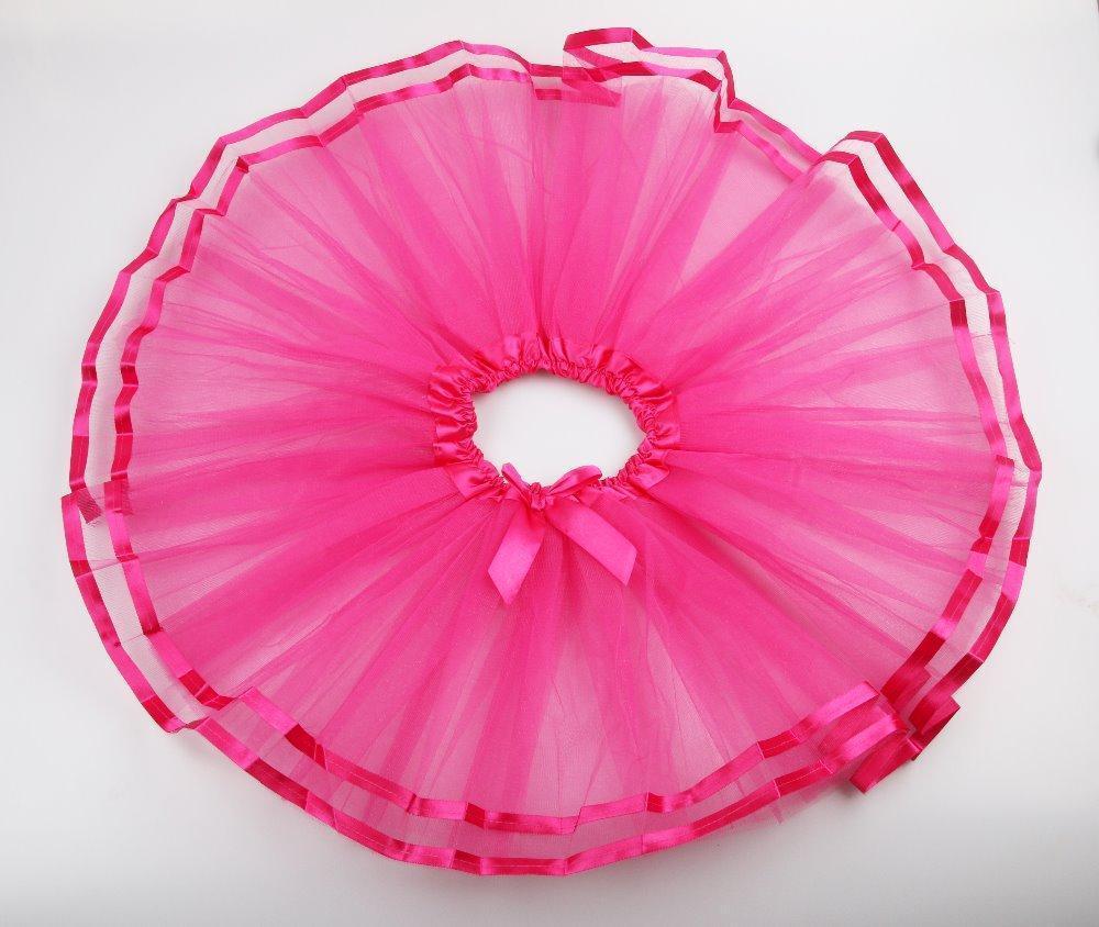 Пышная фатиновая  юбка   для девочек