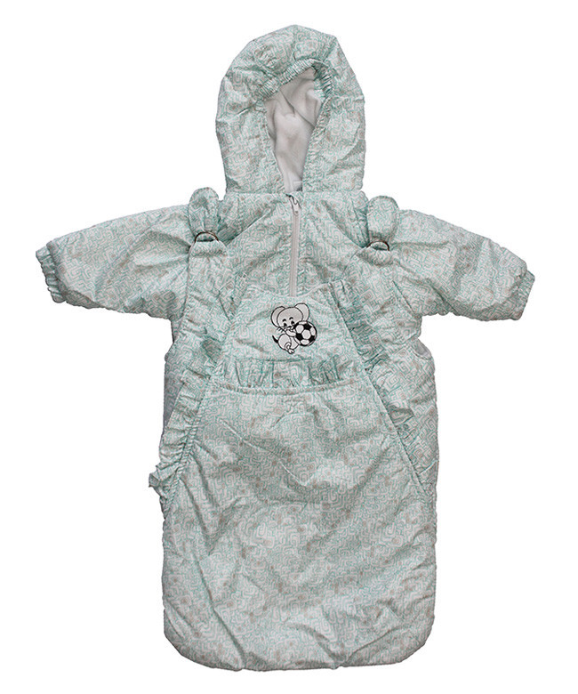 Демисезонная курточка и конверт для  мальчиков от рождения