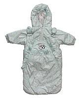 Демисезонная курточка и конверт для  мальчиков от рождения, фото 1