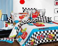 Комплект постельного белья  для мальчиков Молния Маквин 95, фото 1