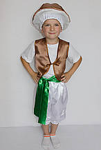 Карнавальный костюм для мальчика  Гриб Опенок