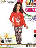 Пижама  для девочек на 2-7 лет  Nicoletta 85272, фото 2