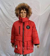 Зимняя теплая  куртка на мальчиков 3-7 лет, фото 1