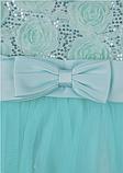 Детское  нарядное платье мятного цвета, фото 5