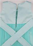 Детское  нарядное платье мятного цвета, фото 8