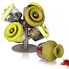Набор для хранения специй и трав Spice Rack с силиконовыми крышечками 6 шт, фото 2