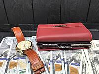 Функциональный кошелёк из натуральной кожи Tailian