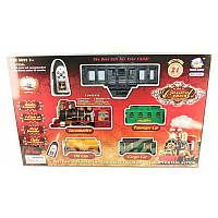 Железная дорога на радиоуправлении, мелодия, дым, 260 см