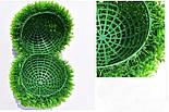 Искусственный шар самшит салатовый  34 см, фото 2