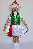 Карнавальный костюм для девочек  Гриб Мухомор