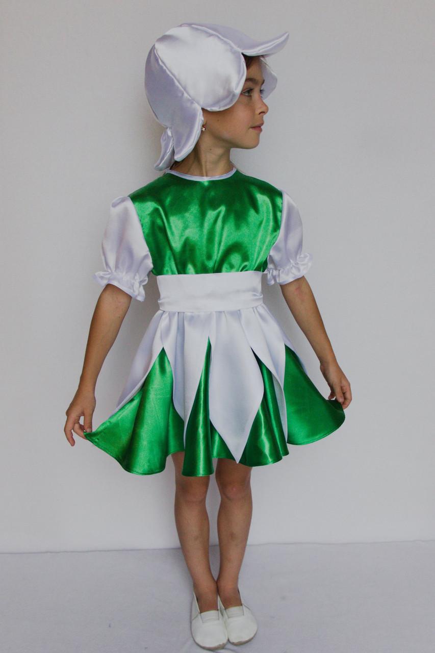 Карнавальный костюм  для девочек Подснежник