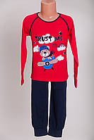 Пижама  для мальчиков  3-8 лет Tom John 89093