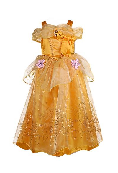 Нарядное детское платье принцессы Белль