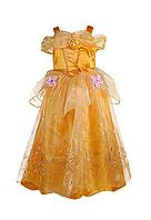 Нарядное детское платье принцессы Белль, фото 1