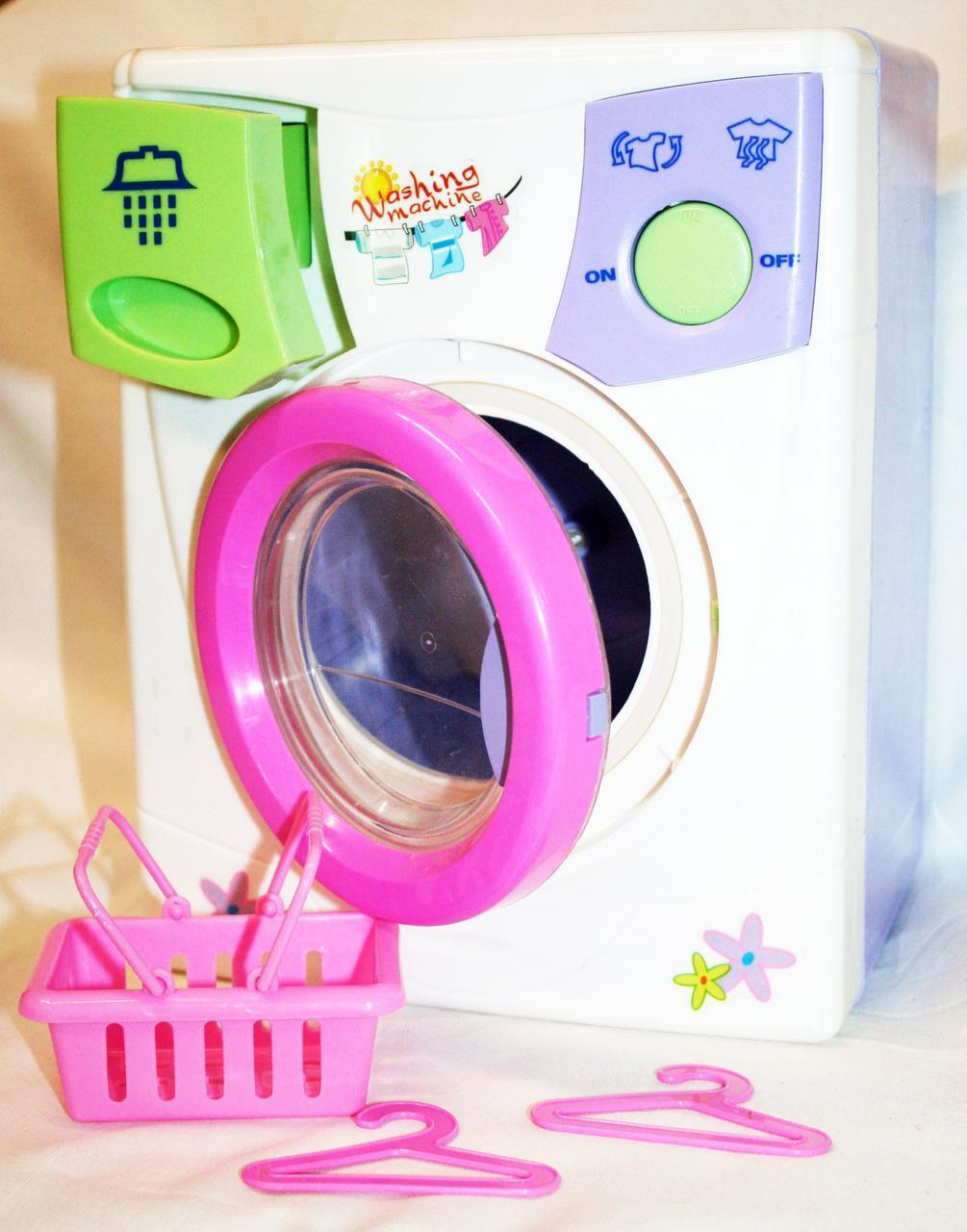 Детская  стиральная машина с корзиной для белья 2010