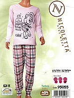 Пижама   для девочек подростков с  мишкой