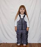 Красивая   зимняя  куртка  и брюки  для девочки, фото 2