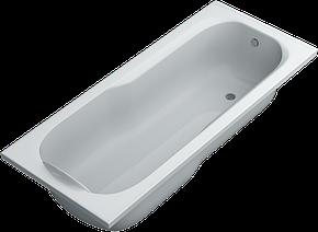 Акриловая ванна SWAN Sabrina 190х80х55 cм прямоугольная, фото 2