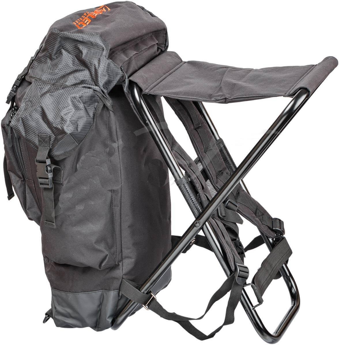 Рюкзак со стулом Select (70 х 50 х 30 см) черный