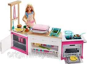 Набор и кукла Барби Кухня мечты готовим вместе Barbie Ultimate Kitchen Mattel FRH73