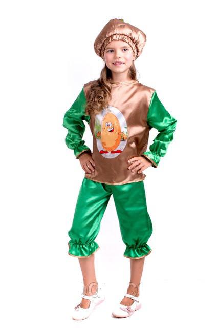 Карнавальный костюм для детей Картошки