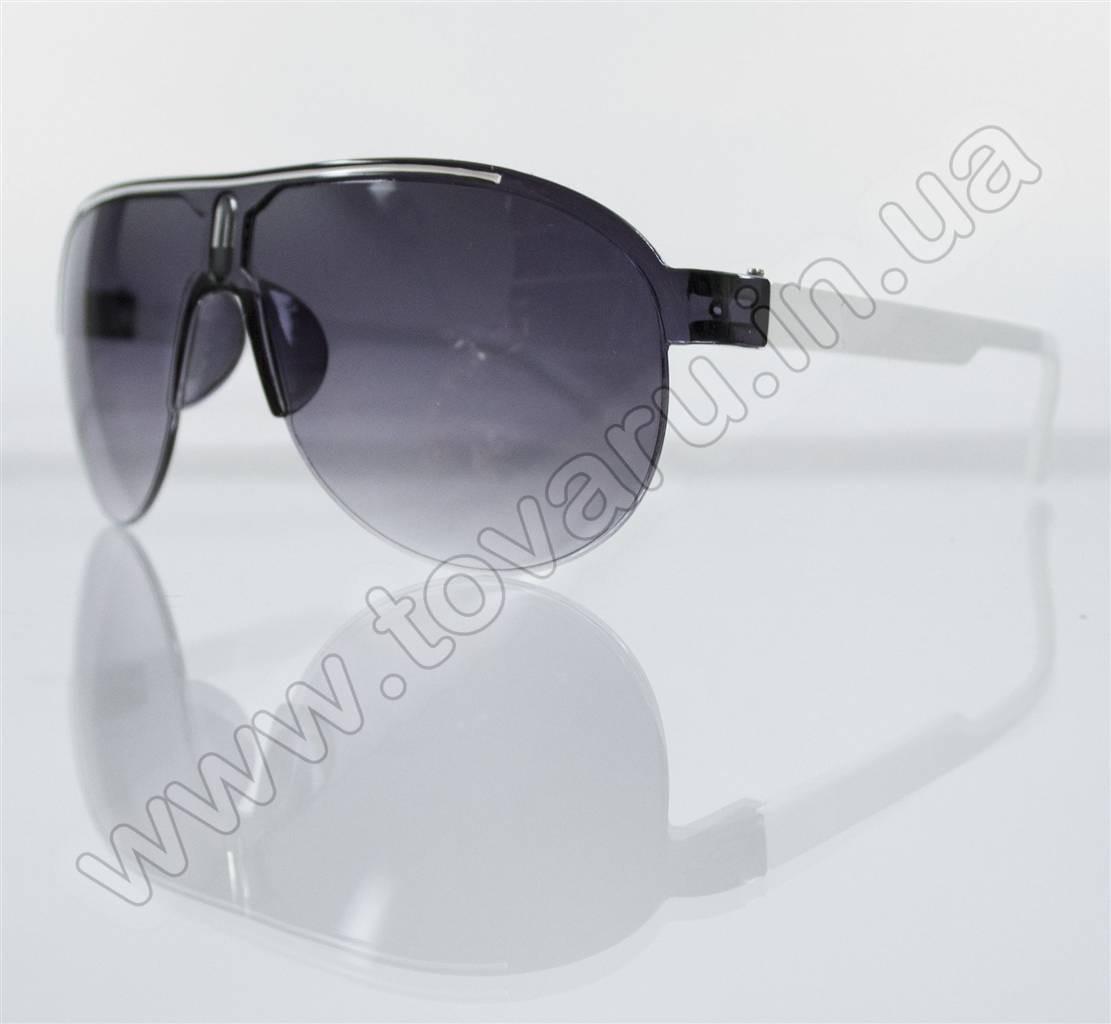 Оптом Очки унисекс солнцезащитные - Черно-белые - B-53