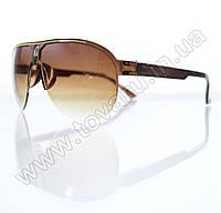 Оптом Очки унисекс солнцезащитные - Коричневые - B-53, фото 1