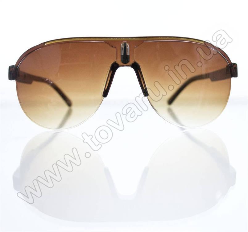 Оптом Очки унисекс солнцезащитные - Коричневые - B-53, фото 2