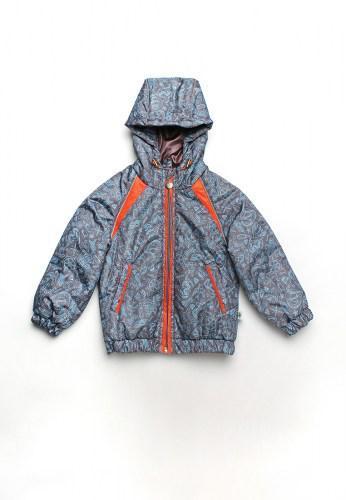 Куртка  серая детская для мальчиков 1,5  - 3 года