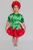 Карнавальный костюм  для девочки Помидорка, фото 1