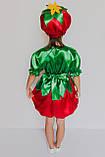 Карнавальный костюм  для девочки Помидорка, фото 3