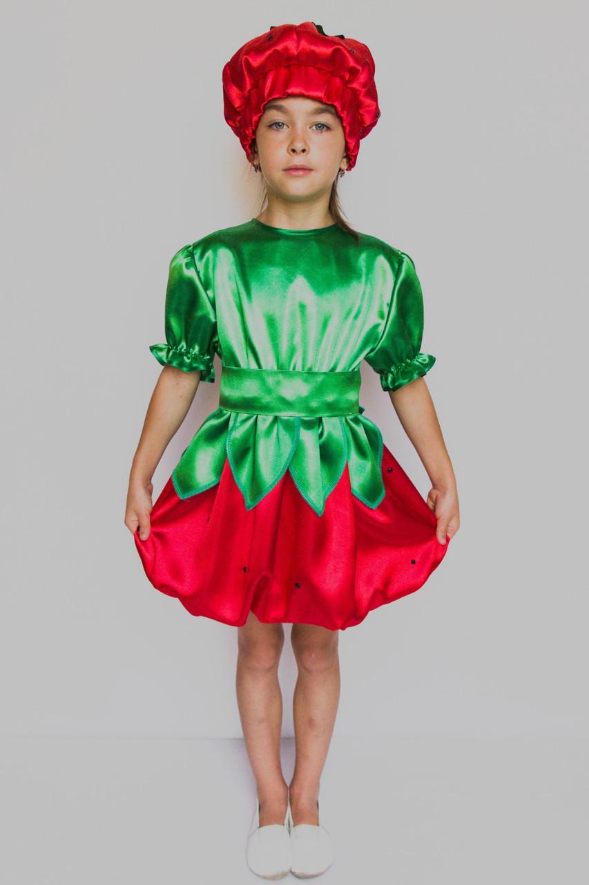 Детский карнавальный костюм Клубнички
