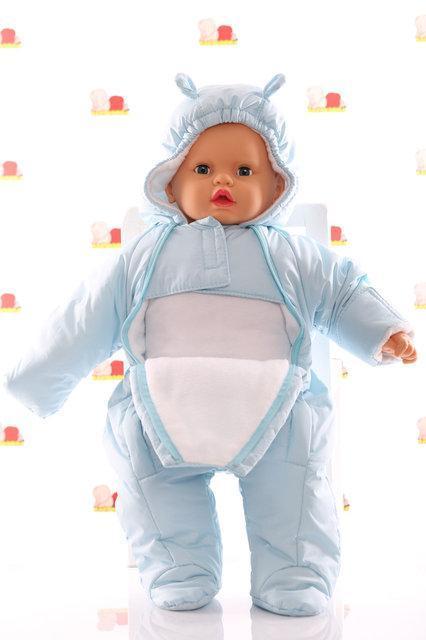 Демисезонный комбинезон человечек для новорожденного