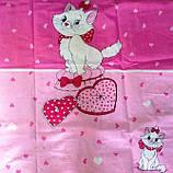 Постельное белье  для девочек Кошечка, фото 3