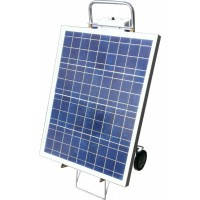 Солнечная электростанция мобильная переносная 50Вт 12-220Вольт(70Вт), фото 1