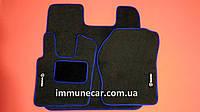 SCANIA R-серия с 2009- велюровые ковры в кабину синие
