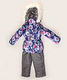 Куртка зимняя  утепленная  и полукомбинезон  для девочек, фото 2