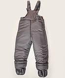 Куртка зимняя  утепленная  и полукомбинезон  для девочек, фото 6