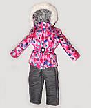 Куртка зимняя  утепленная  и полукомбинезон  для девочек, фото 7
