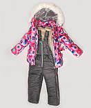 Куртка зимняя  утепленная  и полукомбинезон  для девочек, фото 8