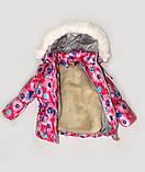 Куртка зимняя  утепленная  и полукомбинезон  для девочек, фото 9